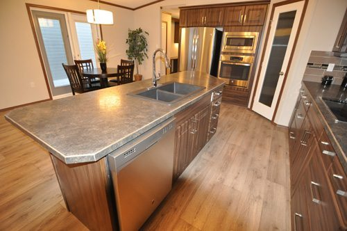 Bordeaux Modular Home - Kitchen Island - Model Available To Order