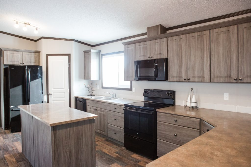 McKinley Modular Home - Kitchen - Show Home Model