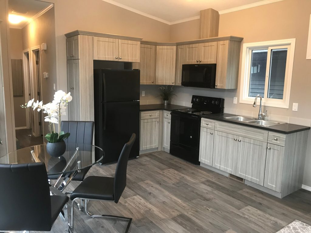 Bella Vista Modular Home - Kitchen and Dining Room - Show Home Model