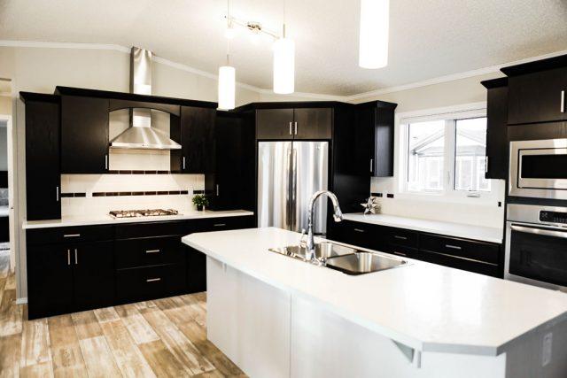 Tuscany Modular Home - Kitchen - Show Home Model